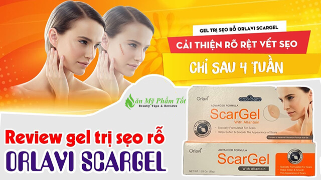 Review Gel trị sẹo Orlavi ScarGel