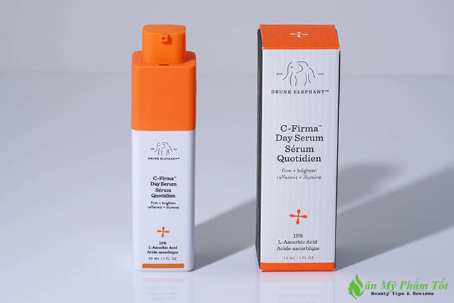 Bao bì Drunk Elephant C-Firma Day Serum
