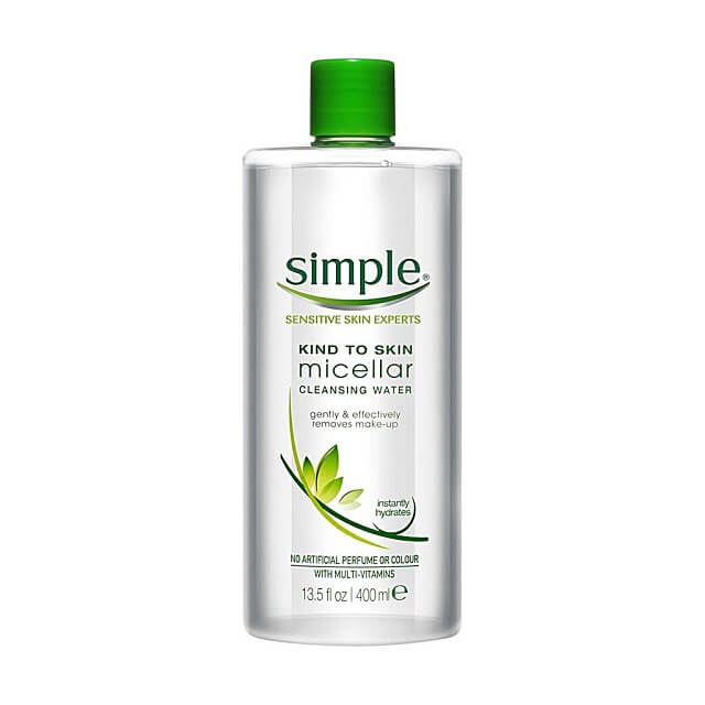 Nước tẩy trang Simple Sensotive Skin Experts Micellar Cleansing Water
